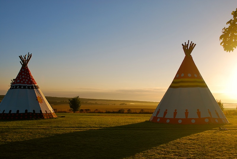 Glamping Tipis In France 187 Brilliant Family Friendly